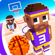 Download Game Blocky basketball APK Mod Free