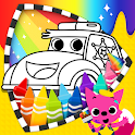 Cars Coloring Book PINKFONG icon
