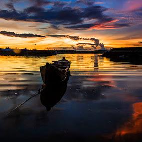 My Live by Sonny Saban - Landscapes Sunsets & Sunrises ( sea, beach, travel, boat, rote island, dusk )
