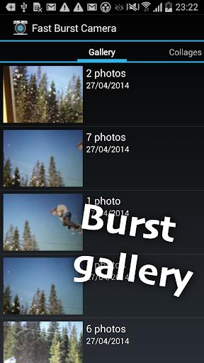 Fast Burst Camera Lite screenshot 4