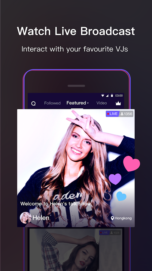 VOOV - Live Stream Yourself Now- screenshot