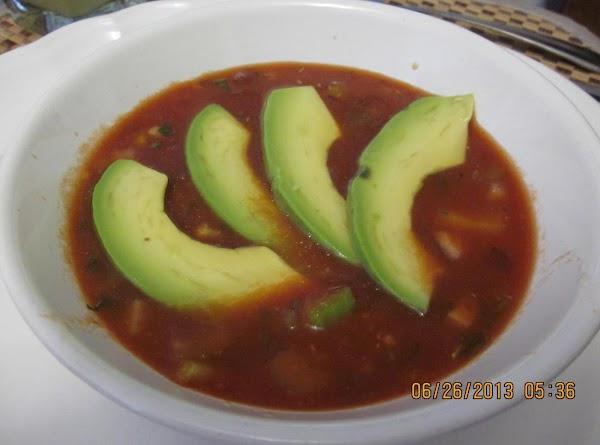 Gazpacho / Get Your Veggies Here! Recipe