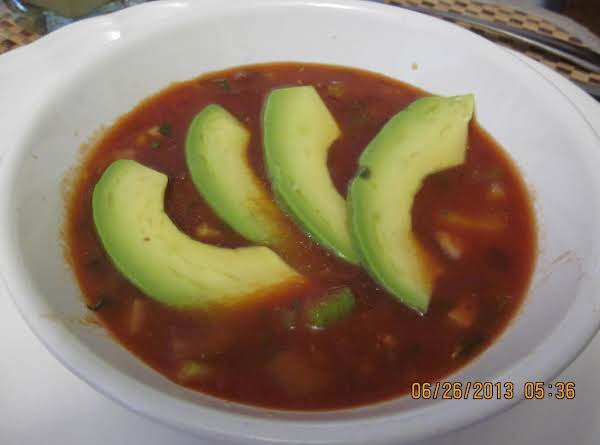 Gazpacho / Get Your Veggies Here! Recipe