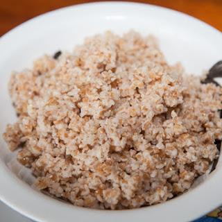 Wheat Groats Porridge.