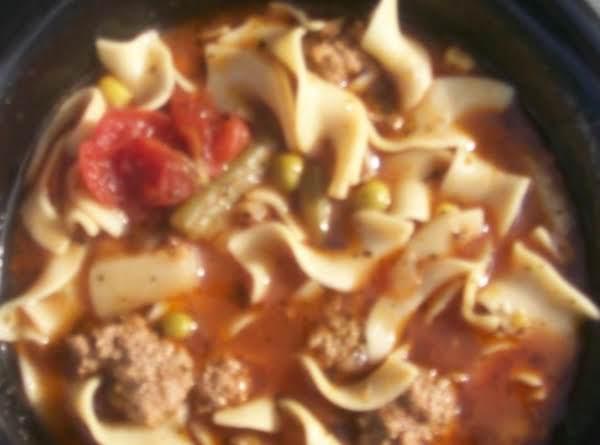 Beef & Noodle Soup