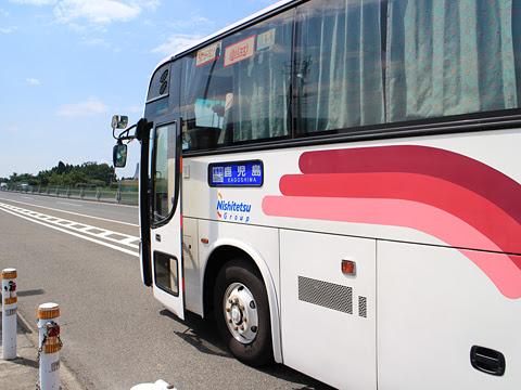 西鉄高速バス「桜島号」 9135 鹿児島空港南到着 その1