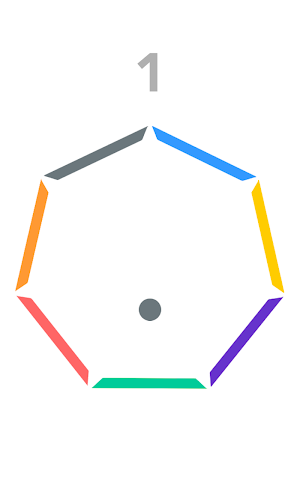 android Insane Bounce-Spinny Circle Screenshot 1