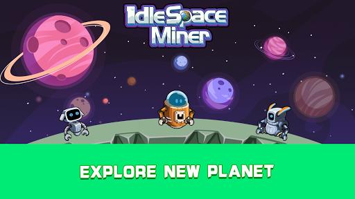 Idle Space Miner - Idle Cash Mine Simulator 1.3.4 screenshots 7