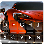 App Speed Red Sports Car Keyboard Theme apk for kindle fire