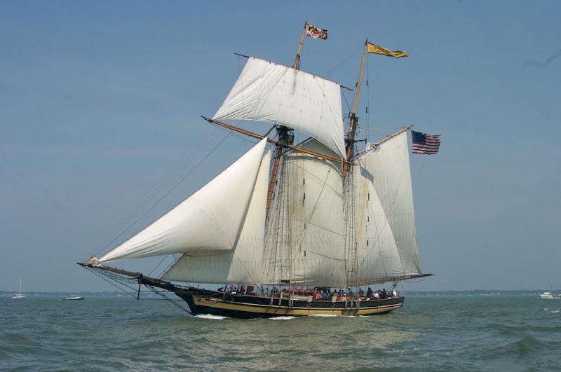 Photo: Tall Ships at Cape Charles (photos courtesy of Chris Glennon)