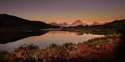 Photo: Tetons in the morning