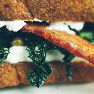 BKR (Bacon, Kale, Ricotta) Sandwich
