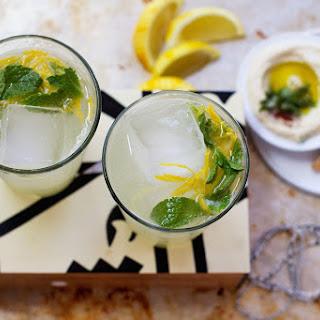 {Lebanese Limonada} Sparkling Rosewater Lemonade