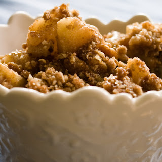Apple crisp, improved! Whatchu say?