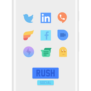 RUSH Icon Pack 1.1 [Premium Unlocked] Cracked Apk 5