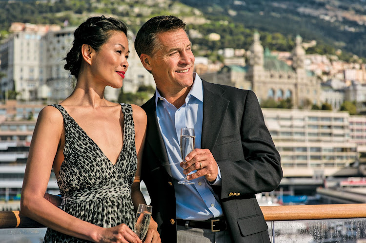 Aboard the Tere Moana in Monte Carlo: Dress up or down, depending on your environs. You'll want to take a couple of snazzy numbers along with your comfy outfits.