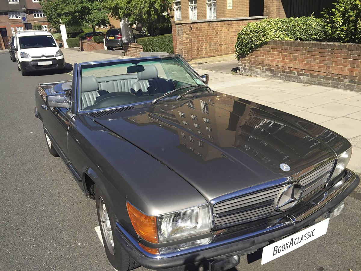 Mercedes-Benz SL280 Hire London