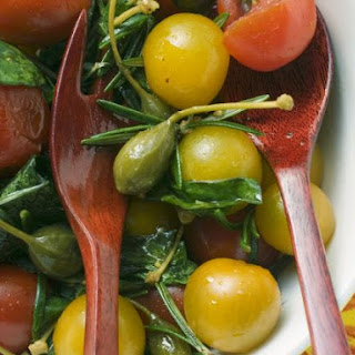 Tomato & Caper Salad with Herb Dressing