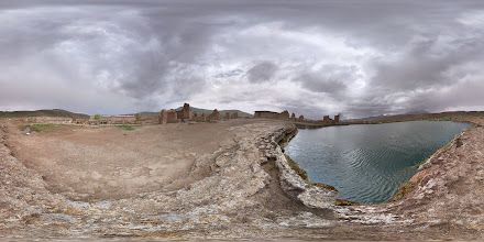 Photo: Takht-e Soleyman, West Azarbaijan تخت سلیمان