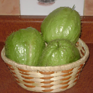 Chayote Ugly! {Cream of Chayote Soup}.
