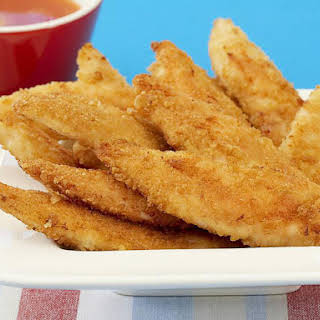 Oven-Fried Chicken Fingers.
