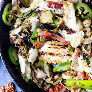CHARRED CABBAGE SALAD Recipe