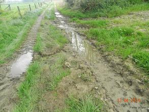 Photo: toch nog wat modder