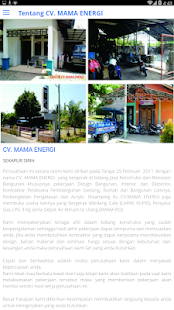 Download free CV. MAMA ENERGI for PC on Windows and Mac apk screenshot 3