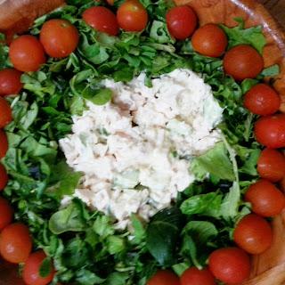 Cucumber Dill Chicken Salad
