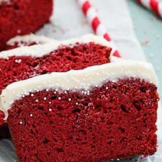 Red Velvet Pound Cake.