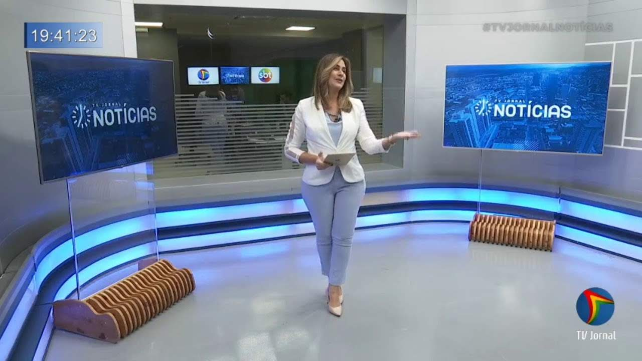 Cenário do TV Jornal Notícias