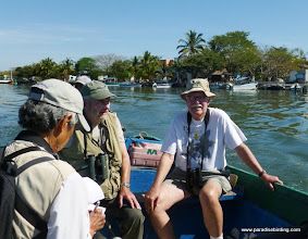 Photo: DAY 2: the short boat ride across Estero del Pozo to Peso Island