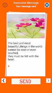 Message Card - náhled