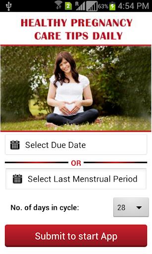 Healthy Pregnancy Care Tips