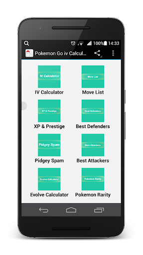 Download IV Calculator Pokemon Go Game Google Play softwares