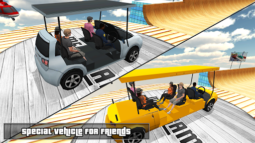 Biggest Mega Ramp With Friends - Car Games 3D apkpoly screenshots 2