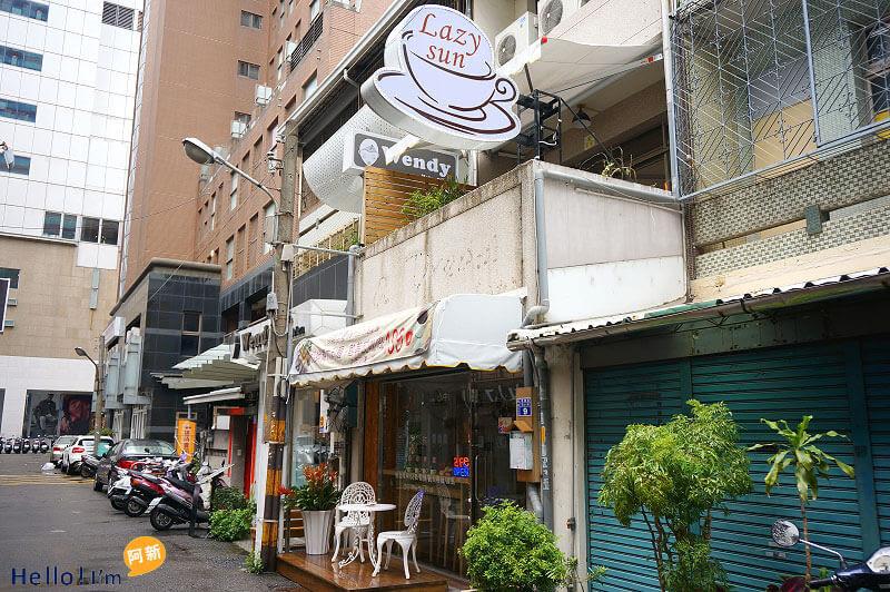 台中西區咖啡館,Lazy sun Cafe-1
