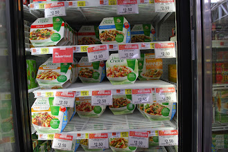 Photo: There was a HUGE selections of Healthy Choice Cafe Steamers. They are on rollback for $2.50, pair it with the $1 coupon and that's a deal!