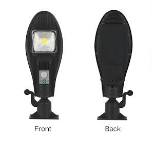 Lampa solara JX-256 100W COB, senzor de miscare, 3 moduri de iluminare