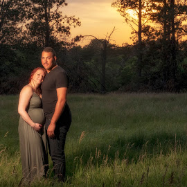 Future fire by Cameron  Cleland - People Maternity ( sunset, portrait, summer, landscape )