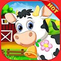 Family Farm Frenzy:Country Seaside Town ville Game icon