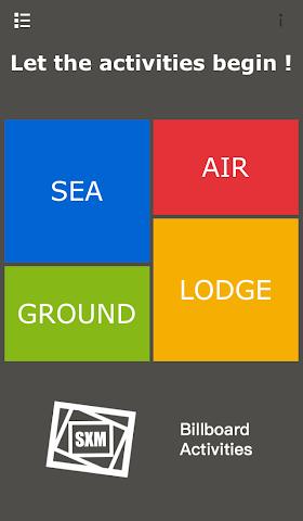 android SXM Activities Screenshot 0