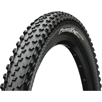 Continental Cross King 26 x 2.3 ProTection+ Tire: Black Chili