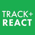 TRACK + REACT icon