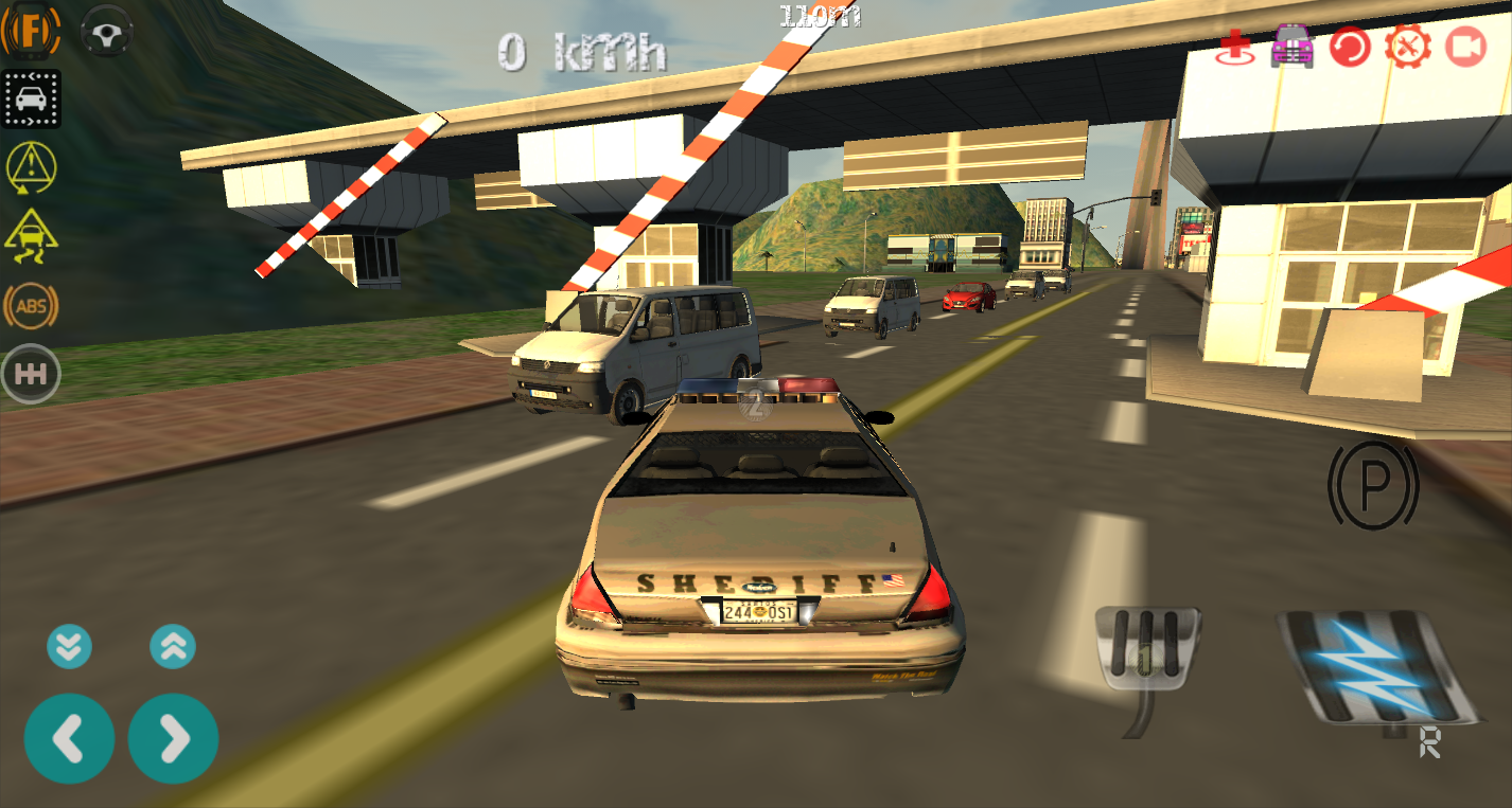 police car driving simulator android apps on google play. Black Bedroom Furniture Sets. Home Design Ideas