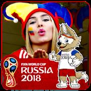 Fifa Football World Cup Russia 2018 Photo Frame