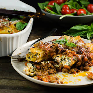 Delicious Beef Cannelloni.