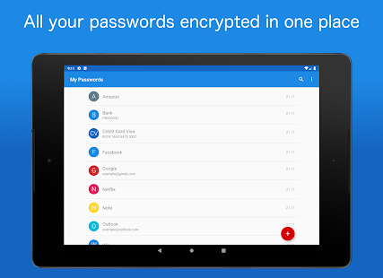 My Passwords - Password Manager Screenshot