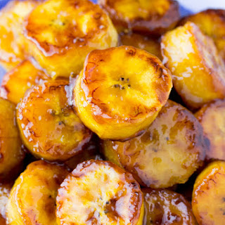 Sticky Sweet Fried Plantains Recipe
