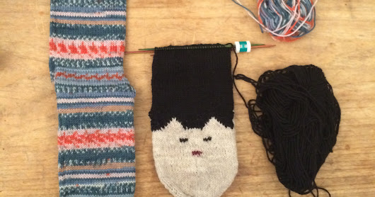 What's on the Sock Needles?